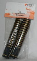 Shrink Capsules Black/Gold (30's)